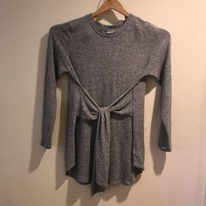 Postmark anthropology gray tunic dress winter XL